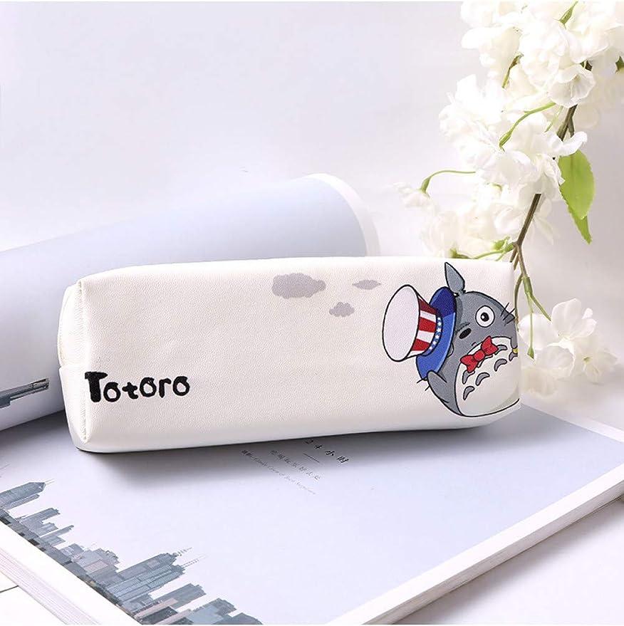 1 Unid Dibujos Animados Japón Totoro Estuche Para Niñas Kawaii Pu Cuero Bolígrafo Lindo Papelería Bolsa Oficina Suministros Escolares,C: Amazon.es: Oficina y papelería