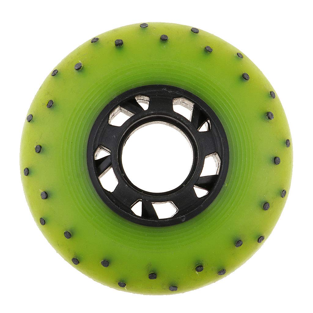 SM SunniMix 4pcs Light Up Skating Replacement 85A Spark Fire Flash Wheel Outdoor Inline 72//76//80mm