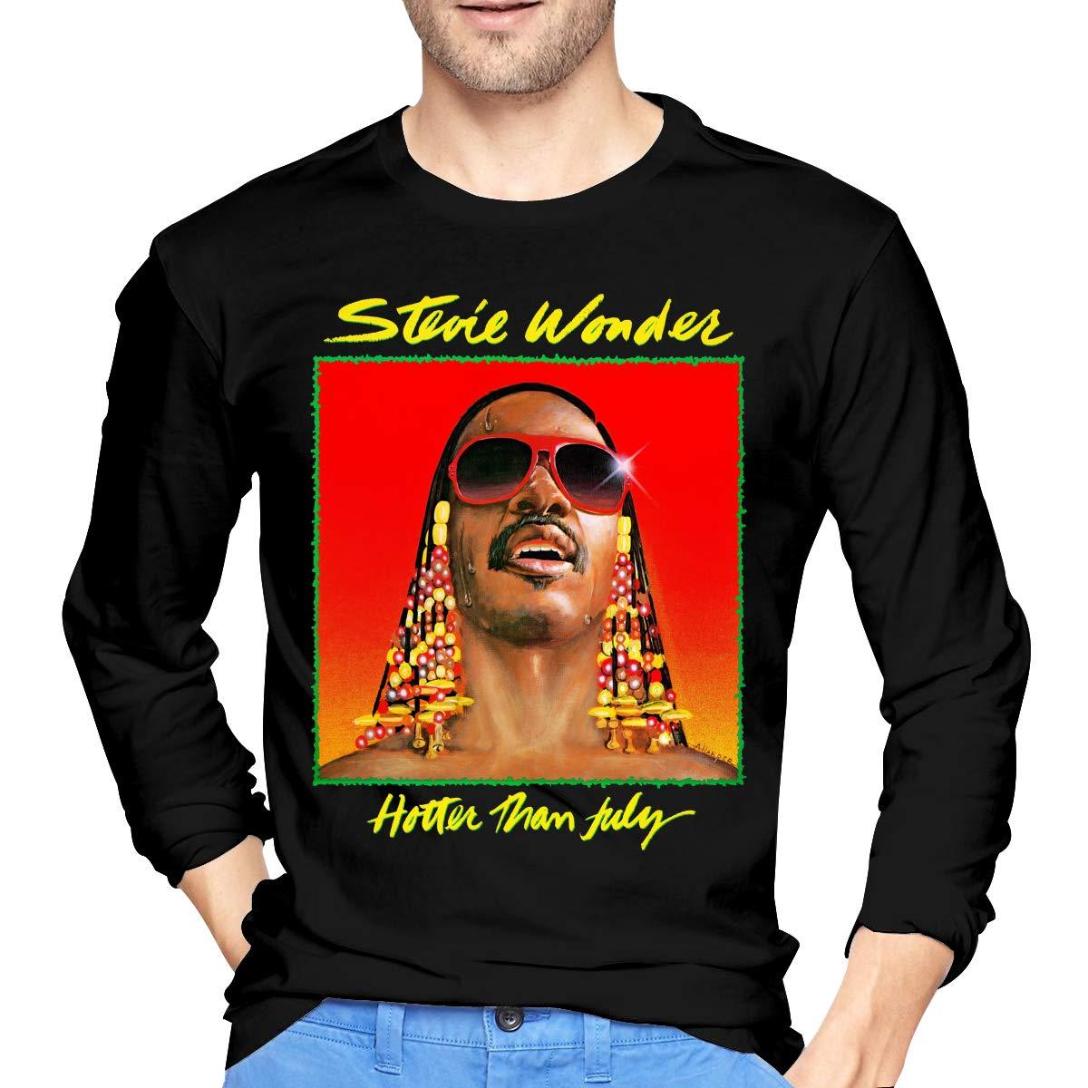 S Stevie Wonder Tshirts Black
