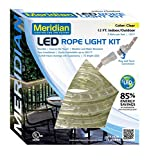 Meridian Electric 36912 12' LED Rope Light, White