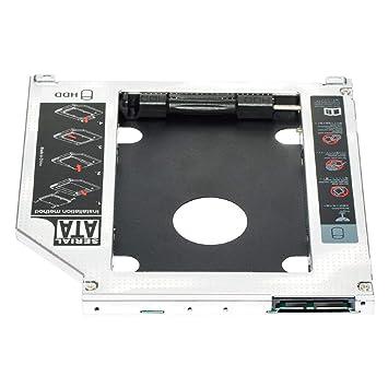 Adaptador caddy para disco duro SSD 2 ° disco duro SATA de 2,5