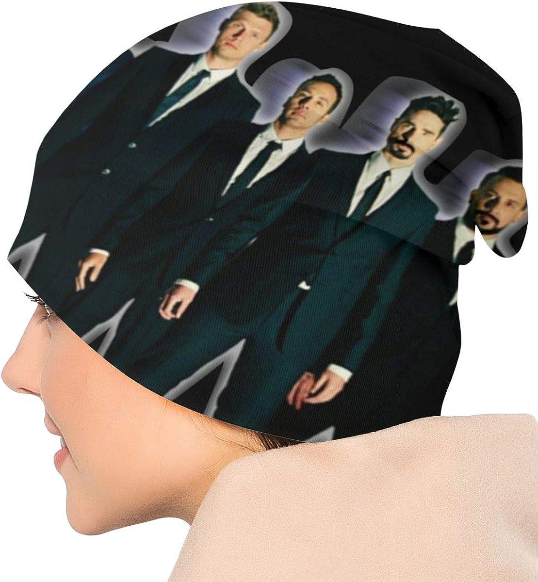 Backstreet Boys Knit Hat Warm Soft Comfortable Warm Winter Beanie Print Cap for Men and Women Black