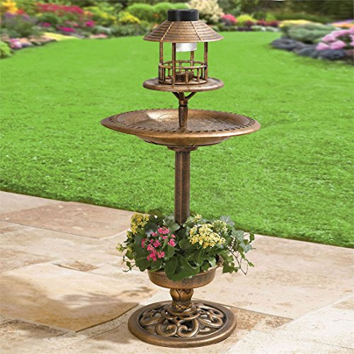 Bird Bath Solar Light - 6