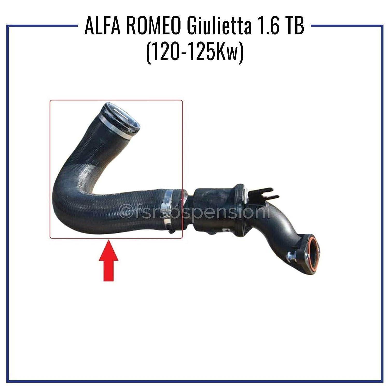 A L F A R O M E O GIULIETTA 1.6 JTD TUBO TURBO D/'ARIA MANICOTTO INTERCOOLER 50517103-50517510