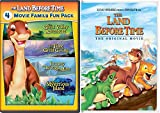 Land Before Time & The Land Before Time II-V 5-Movie Family Fun Pack (The Great Valley Adventure / The Time of the Great Giving / Journey Through the Mists / The Mysterious Island)