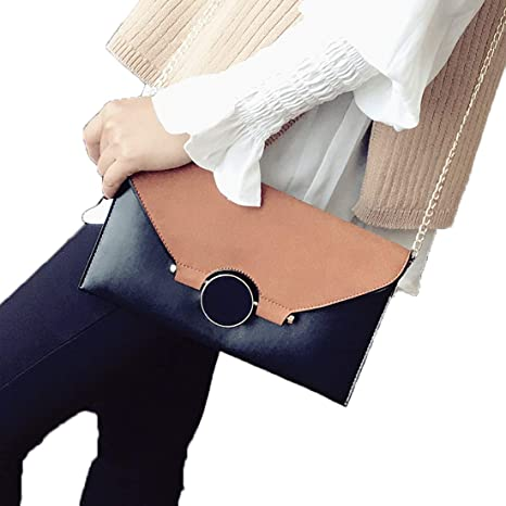 tclo Thing Monótono Clutch Funda Patchwork Monedero Classic ...