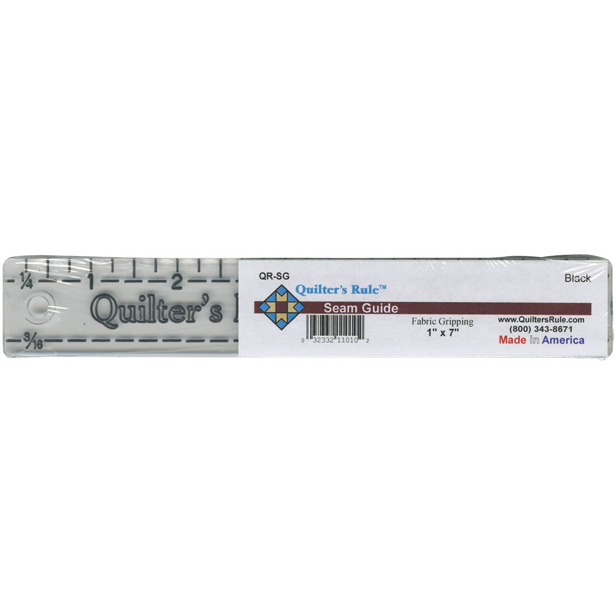 Quilter's Rule Quilter's Seam Guide-7-Inch by 1-Inch Notions - In Network QRSG