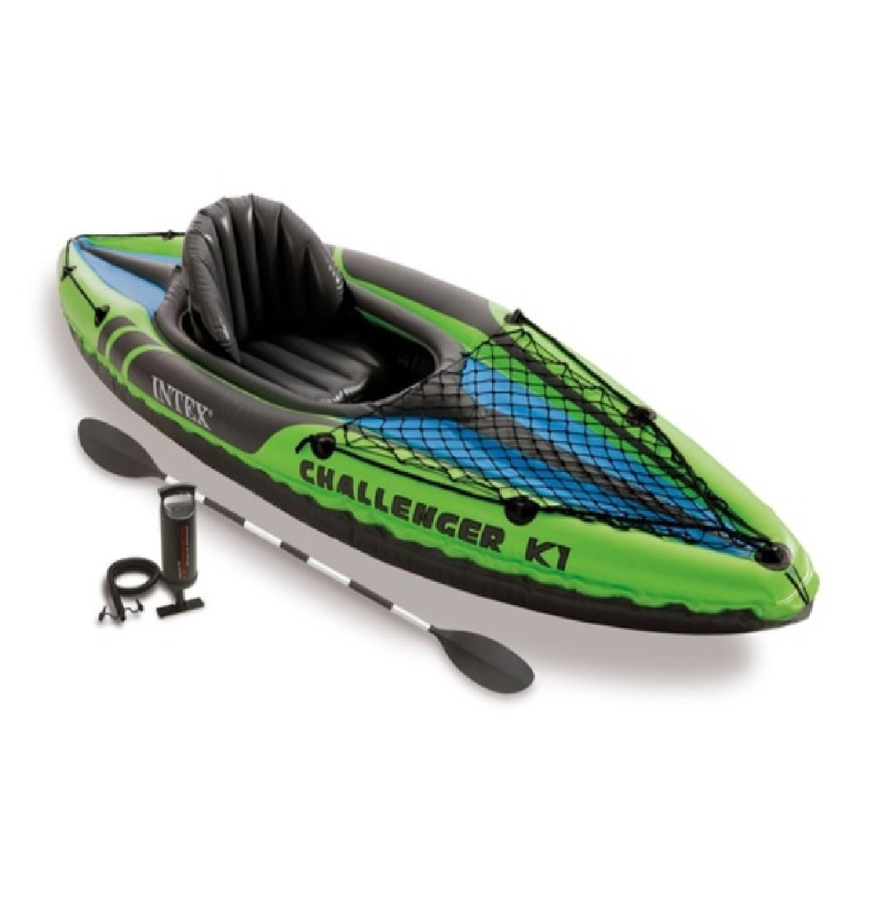 Intex Challenger K1 1-Person Beginner Kayak