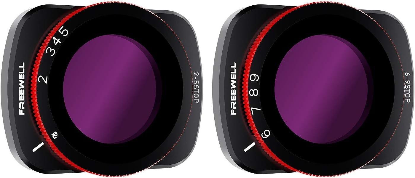 kompatibel mit DJI Osmo Pocket 5 Stop 6 Freewell Variabler ND 2 9 Stop VND-Filter
