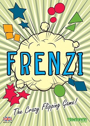 FRENZI - The Crazy Flipping Card Game by Wildcard -