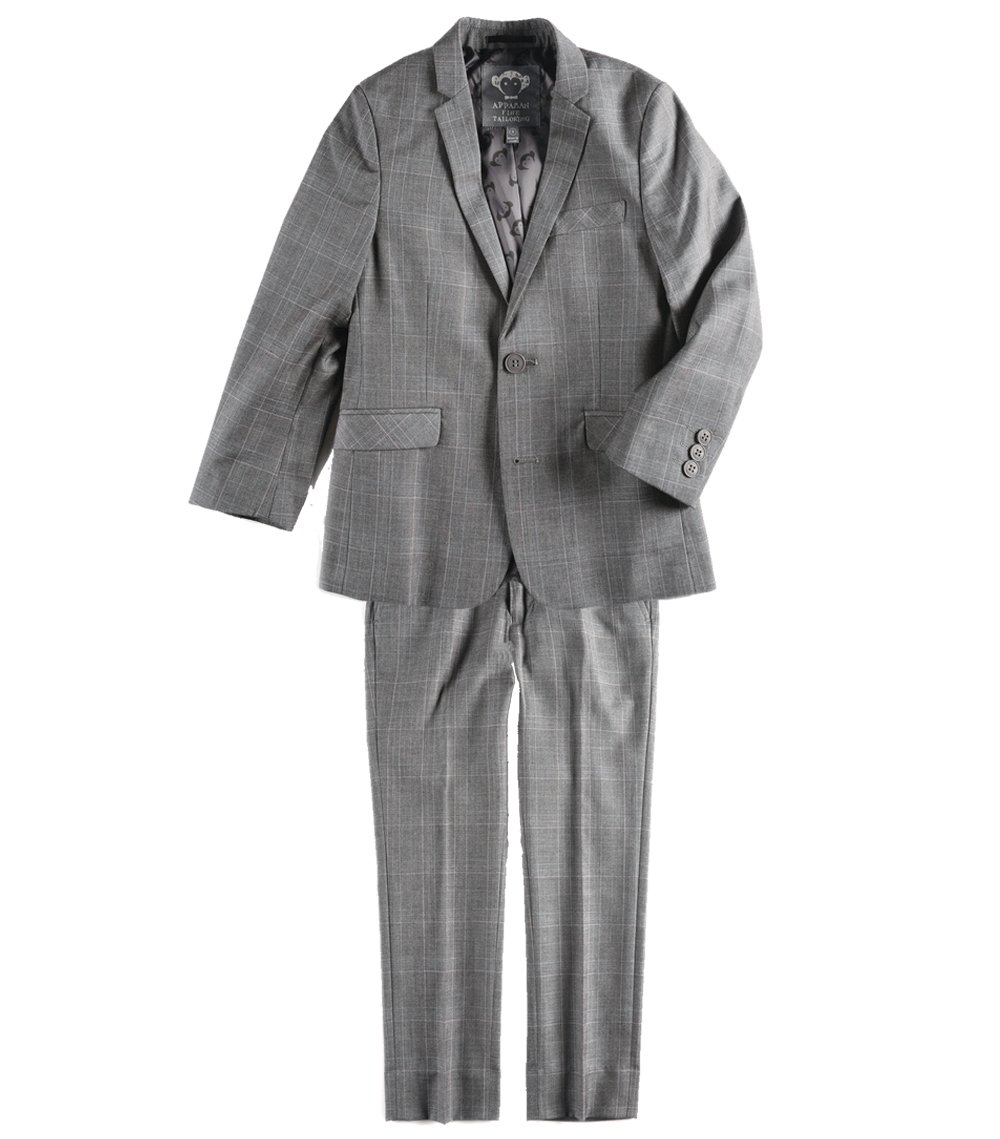 Appaman Big Boys' 2-Piece Mod Suit in Empire Plaid Youth 12 Big