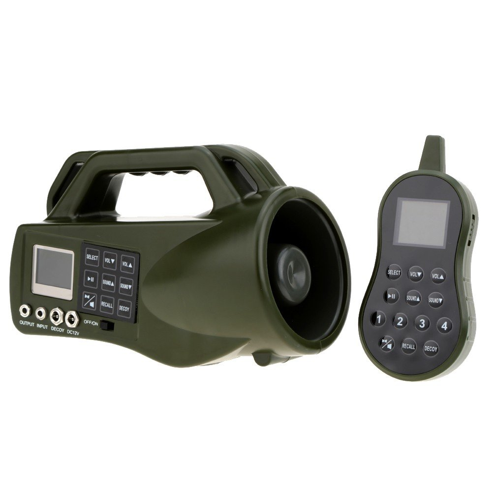 HKCYSEA Hunting Bait Caller 400 Songs Outdoor MP3 Player LCD Screen Loud Speaker With Wireless Remote Control Wildlife Decoy Game Predator by HKCYSEA (Image #2)