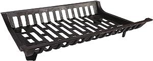 1.GO 27-inch Heavy Duty Steel Fireplace Grate