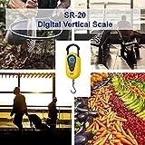 American Weigh Scales AMW-SR-20 Yellow Digital