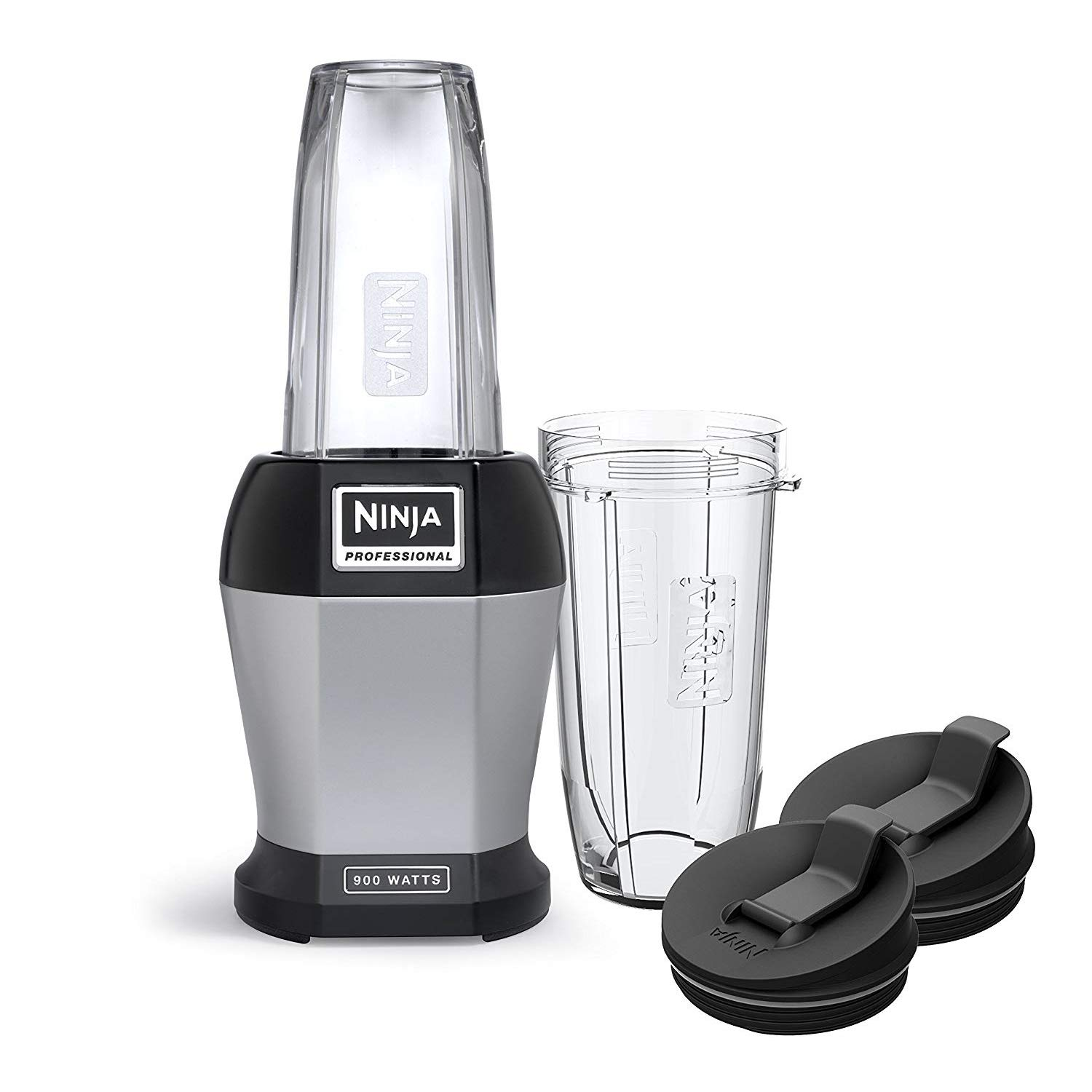 Nutri Ninja Pro BL450 Blender 900 Watts, Black (Renewed)