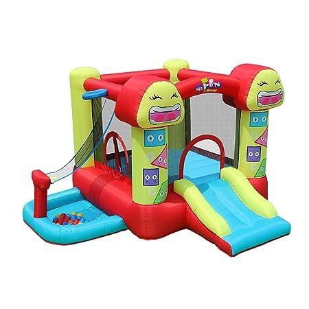 Bouncy Castle Smiley - Cama elástica Infantil con Castillo ...