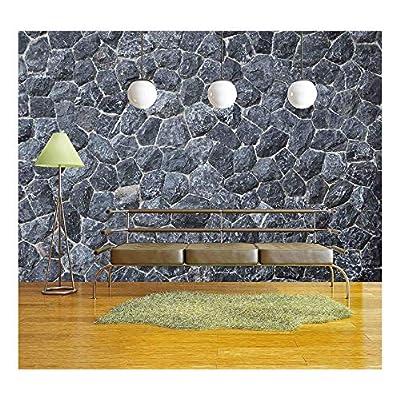 Black Stone Texture - Wall Murals