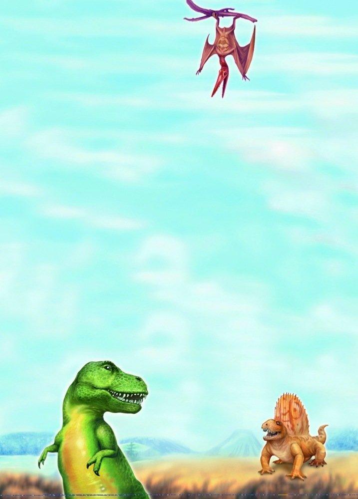 10 Notizblock Block Dinosaurier Dino A6