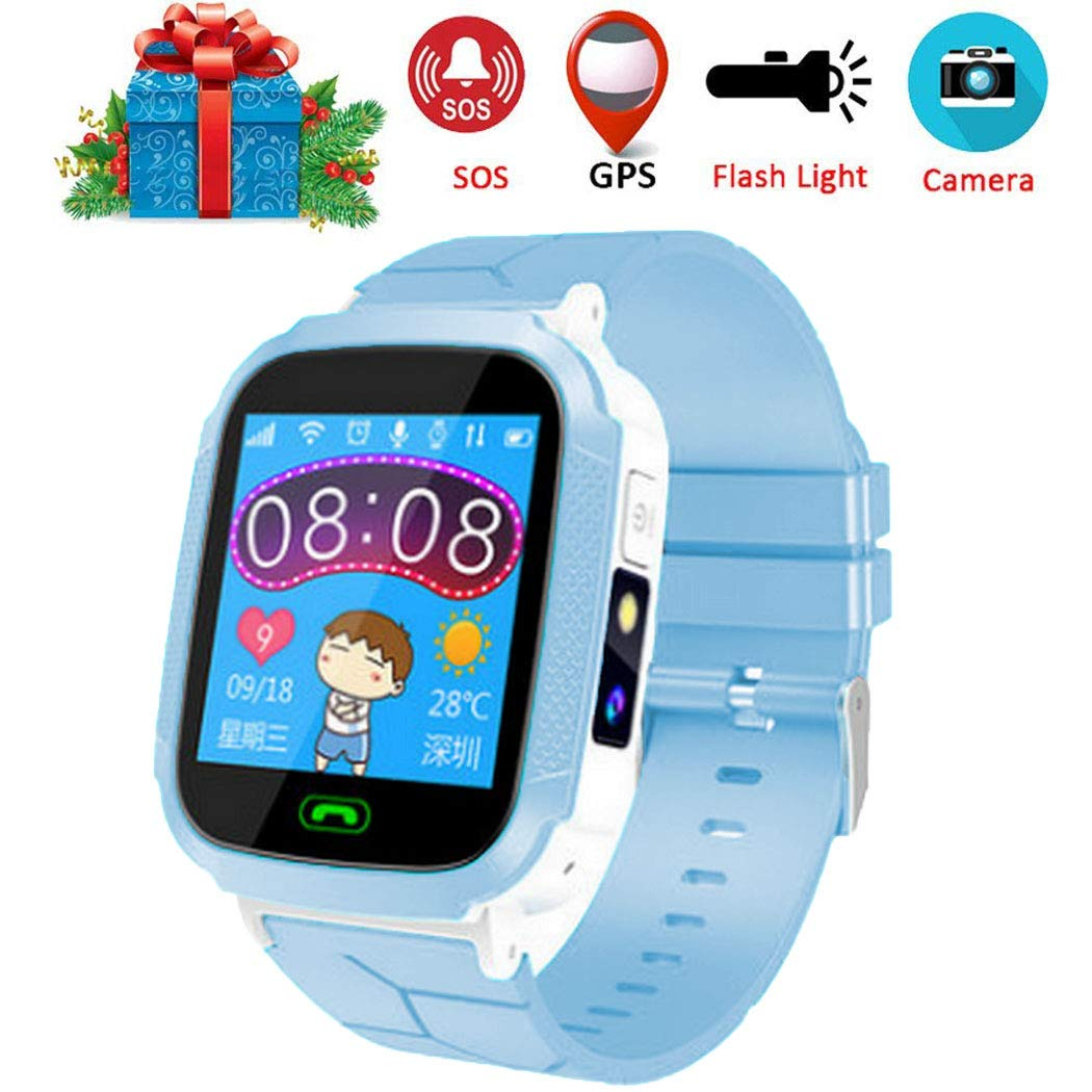 Amazon.com: Touch Screen Smart Positioning Phone Watch Children Two-Way Call with Camera: Cell Phones & Accessories