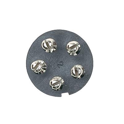 Hopkins 48345 5 Pole Round Connector Kit: Automotive [5Bkhe2009772]