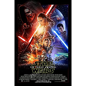 amazon com posters usa star wars episode vii the force awakens