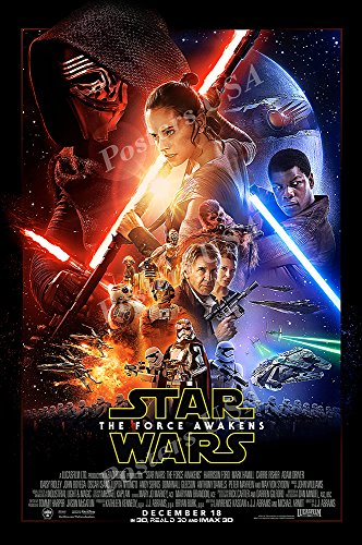 Posters USA - Star Wars Episode VII The Force Awakens Movie Poster GLOSSY FINISH - FIL335 (24' x 36' (61cm x 91.5cm))