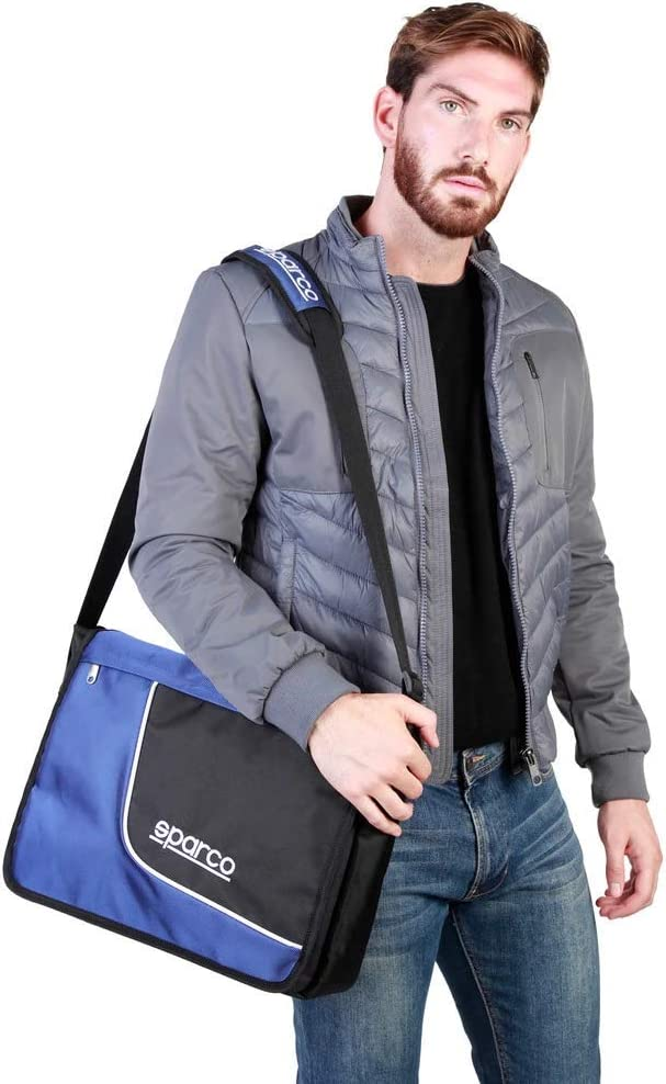 Sparco Mens SL/_Grigio/_B NOSIZE Bag Blue