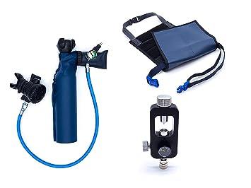 MiniDive Pro (0,5 L) + Estacion de llenado Yoke + Arnés: Amazon.es: Deportes y aire libre