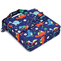 BTSKY Portable Baby Cushion High Chair Seat Pad with Adjustable Cover Dining Chair Harness Cushion for Kids Baby Infant…