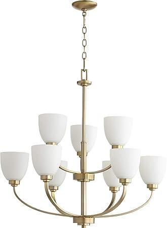 Amazon.com: quórum 9 Nueve – Lámpara de techo con brazos de ...