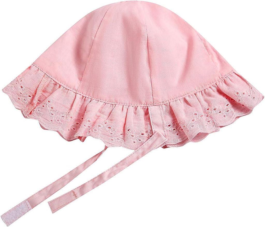 con stampa di frutta ragazze Moneycom protezione solare Cappellino con visiera parasole da viaggio per spiaggia anti-UV per bambini per neonati