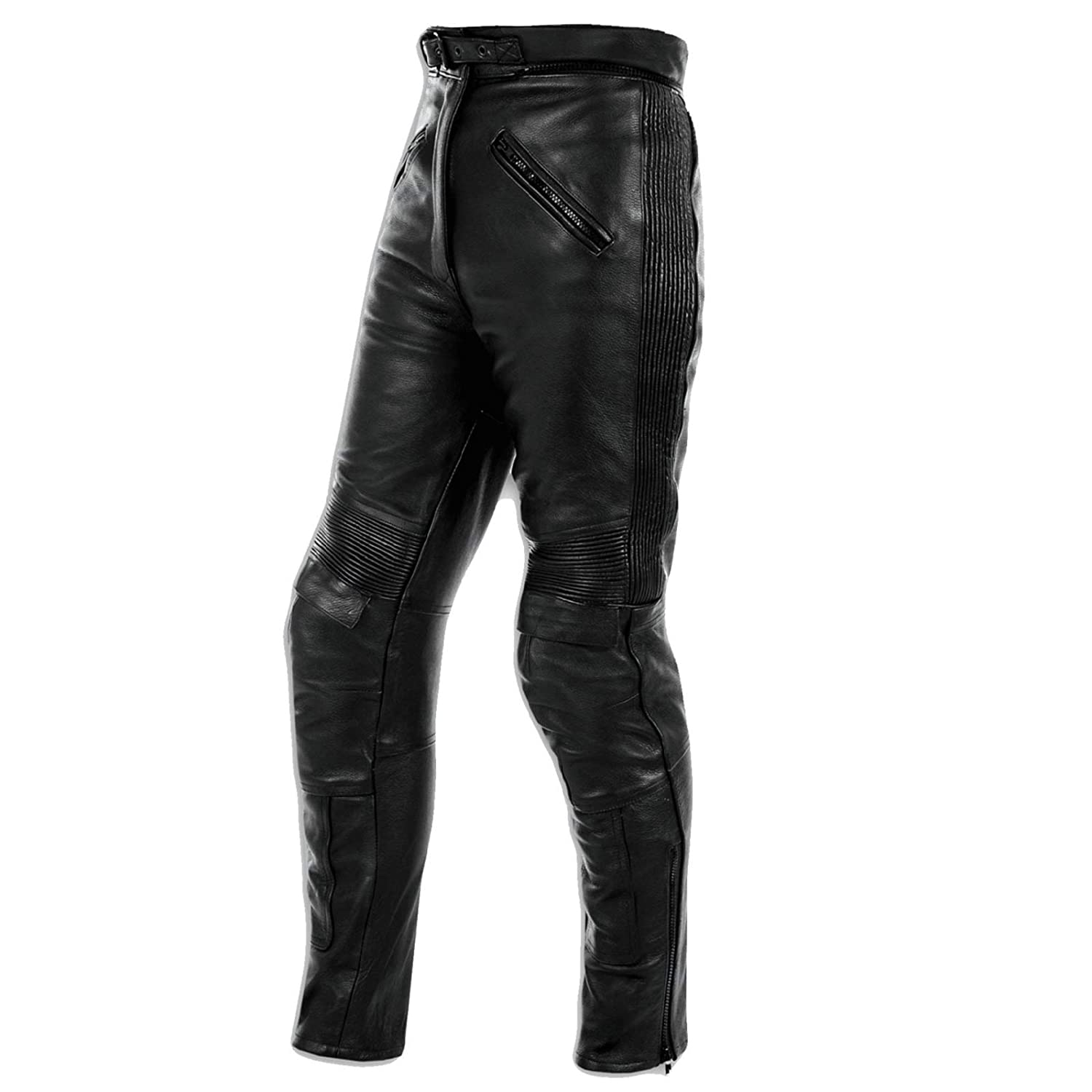 A de Pro Moteur Bike Elastic Leather Trousers Ladies Moto Bike Moto 26