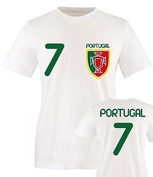 Name Rot EM 2016 Fußball inkl Portugal  KINDER  T-Shirt Trikot Nr