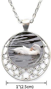 Duck Charm Rubber Duck Locket Necklace Duck Jewelry Duck Locket Pendant Rubber Duck Shower Invitation Rubber Duck Charm Woodland.Y161 Yao0dianxku Duck Locket Necklace