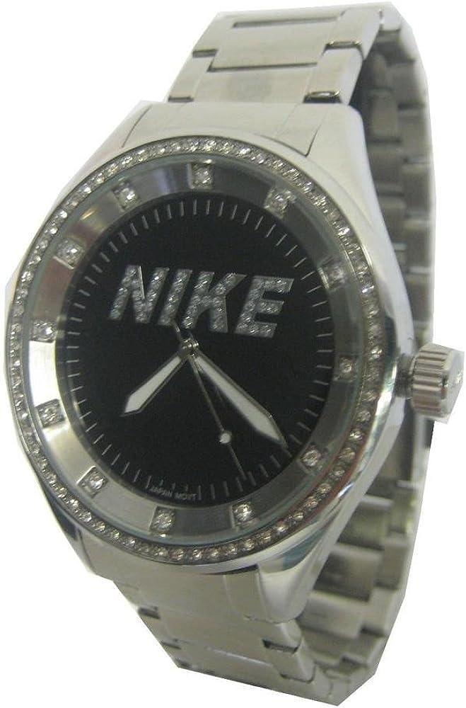 Reloj Mujer Cuarzo Nike Sport Reloj or 526Negro