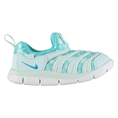 5f77c9d1ffd7 Amazon.com  Nike Dynamo Free Print Girls Trainers Blue Blue Shoes Footwear   Shoes