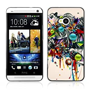 Designer Depo Hard Protection Case for HTC One M7 / Graffiti Art Abstract