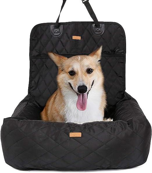 WGWJ Funda de Asiento Impermeable para Cama de Perro, Funda Desmontable para Asiento de Coche para Mascotas para Coche de Perro 2 en 1 comodidadWGWJ: Amazon.es: Productos para mascotas