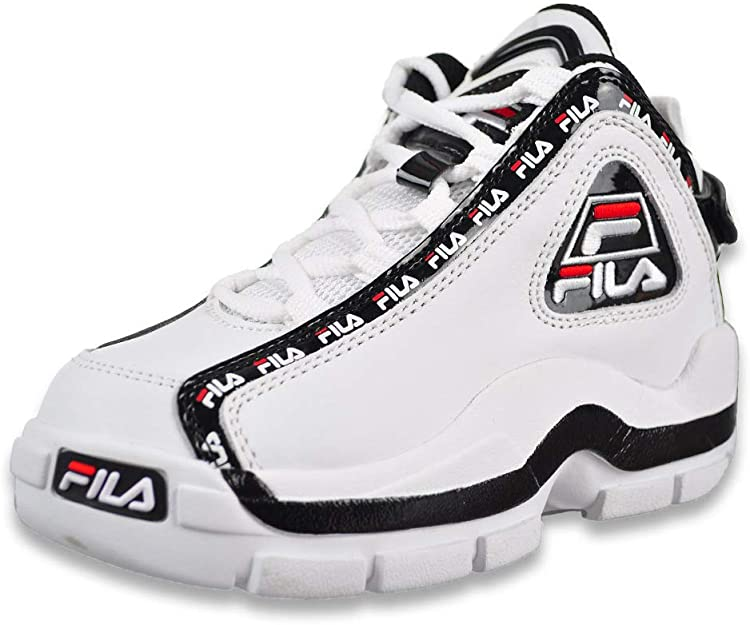 Fila Grant Hill 2 Repeat (niños), Negro (blanco/negro/rojo Fila), 36 EU: Amazon.es: Zapatos y complementos