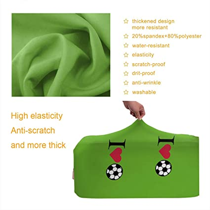 Travel Luggage Cover Toy Frog And Three Mice Suitcase Protector Fits 22-24 Inch Washable Baggage Covers