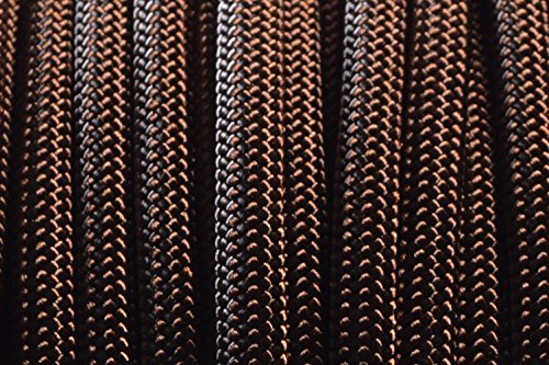 BoredParacord Brand Paracord/Parachute Cord 7-Strand, 550 Lb. Break Strength Guaranteed U.S. Made, Type III - Acid Brown (100 feet) by BoredParacord (Image #2)