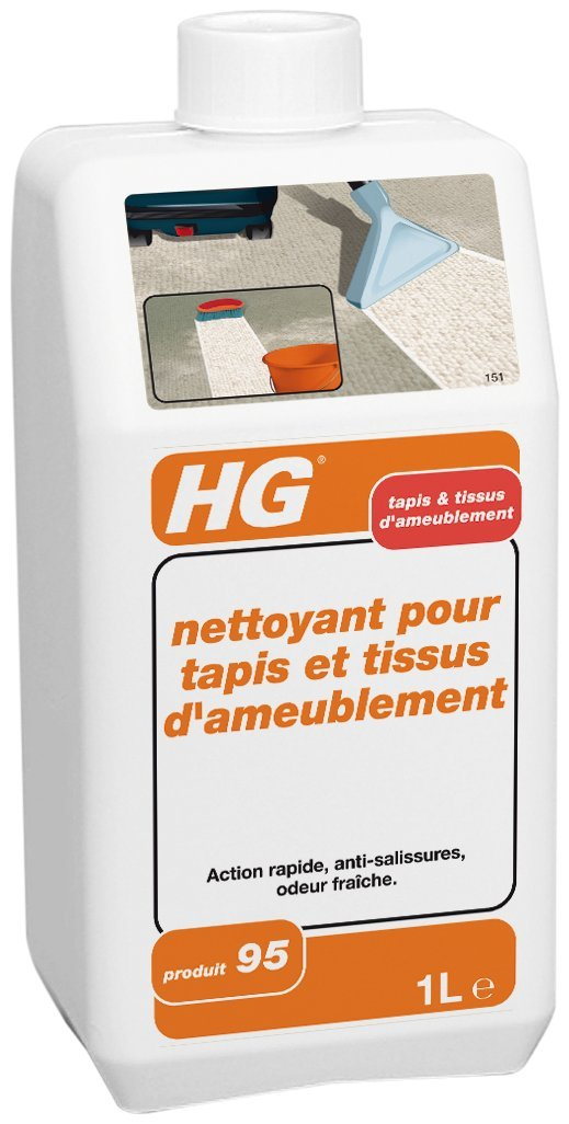 Hg Nettoyant Pour Tapis Et Tissus DAmeublement N   Ml