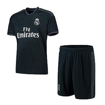 Camiseta de fútbol Personalizada y Pantalones Cortos Real Madrid 2018-2019 Nueva Temporada Kits de