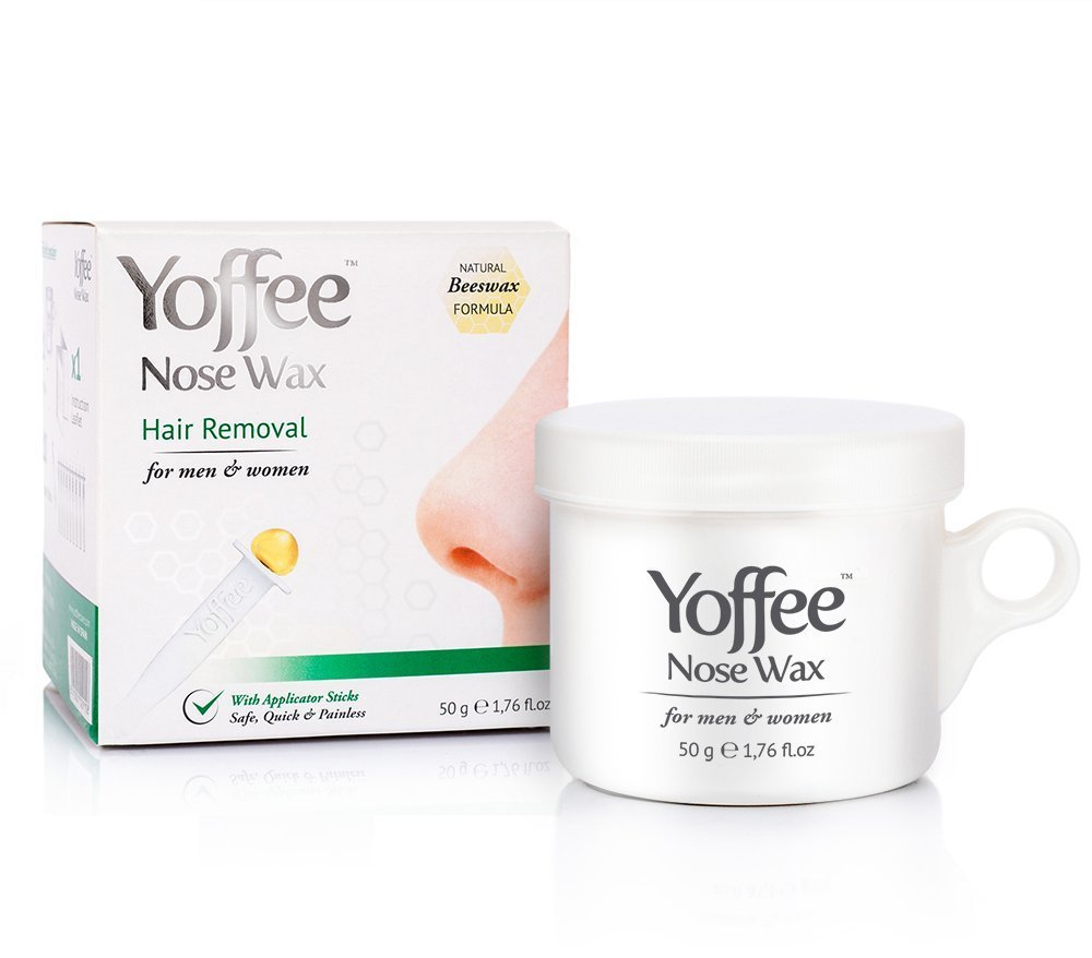 Yoffee Nose Wax Hair Removal with Natural Beeswax Formula - Safe, Quick and Painless 50g Simon & Tom