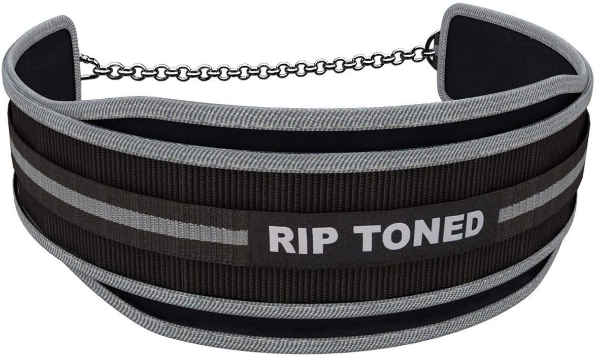 Lifetime Replacement Warranty /… Rip Toned Dip Belt by 6 Weight Lifting Pull Up Belt with 32 Heavy Duty Steel Chain /& Bonus Ebook For Powerlifting Xfit Strength /& Training Bodybuilding