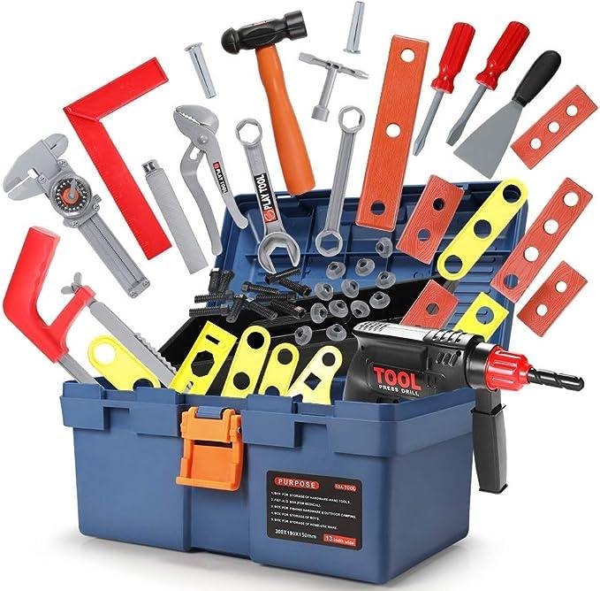 Geyiie Werkzeugkoffer Spielzeug