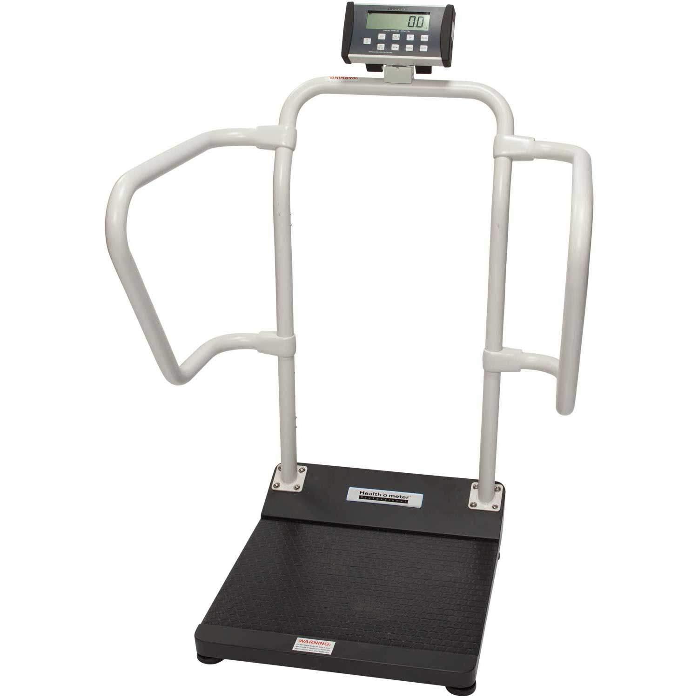 Amazon Com Health O Meter 1100kl Digital Patient Scale Capacity 1000 Lbs Platform Dimension 15 3 4 X 22 Industrial Scientific