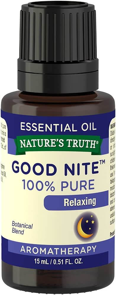 Nature's Truth Essential Oil, Good Nite, 0.51 Fluid Ounce, Multicolor