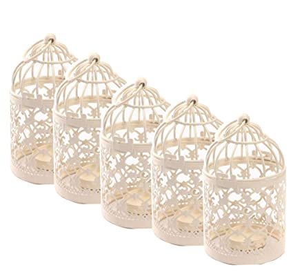 Amazon Com Qingsun 5pcs Metal Candle Holder Centerpiece Decorative