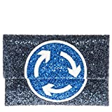 Anya Hindmarch Women's Roundabout Valorie Clutch Blue